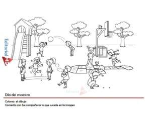 ejemplo de actividades para el dia del maestro