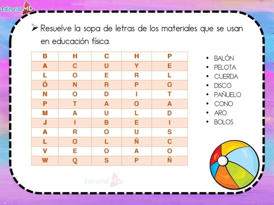 actividades educación