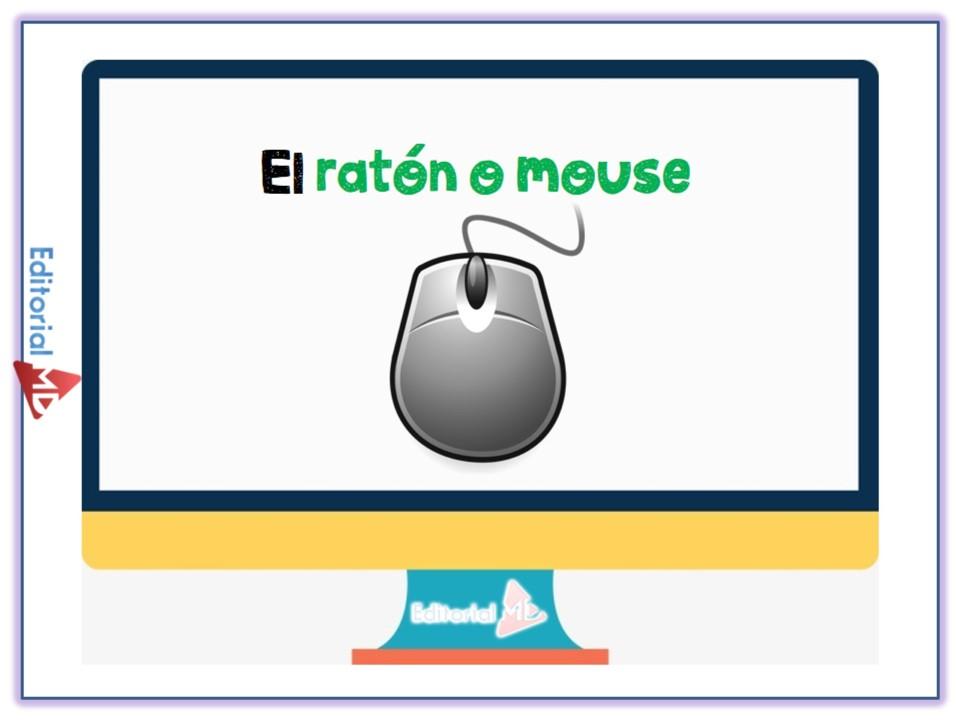 El raton o mouse para niños