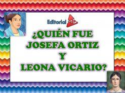 JOSEFA ORTIZ Y LEONA VICARIO