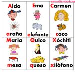 Loteria para imprimir abecedario3