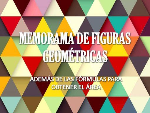 Memorama de figuras geométricas para imprimir