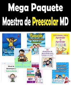 Mega Paquete - Soy Maestra de Preescolar MD 2021