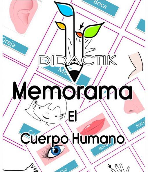 Memorama del Cuerpo Humano