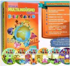 Método de Multilingüismo Bebe Viajero 1T 6 CD´s
