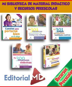 Mi Biblioteca de Material Didactico y Actividades Preescolar