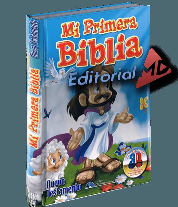 Mi primera biblia Grupo Clasa Editorial MD