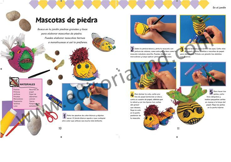 Mis proyectos manuales - manualidades para niño