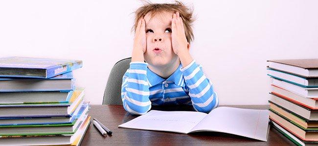 Niños con dificultades para aprender