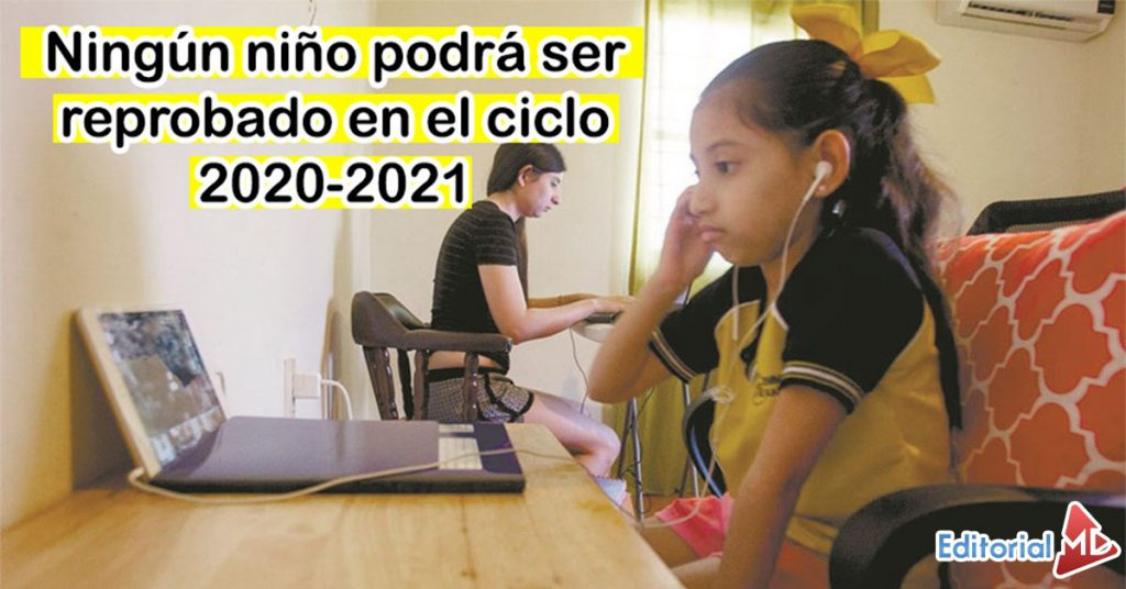 No habrá niños reprobados en el ciclo escolar 2021