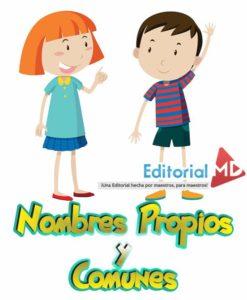 Nombres Propios y comunes