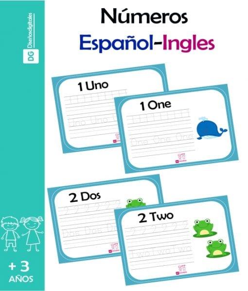 Numeros en español e Ingles