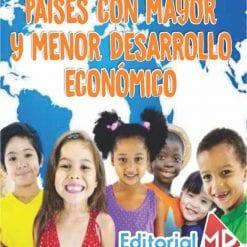 Paises con mayor y menor desarrollo economico