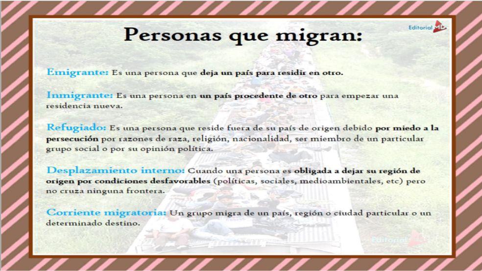Personas que migran