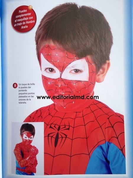 Pinta tu carita spiderman