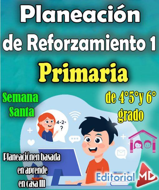Plan de reforzamiento 1 primaria (Semana Santa)