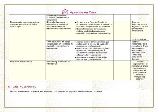 Plan de reforzamiento para Secundaria Generales, Técnicas y Telesecundaria, (3er Grado) 01