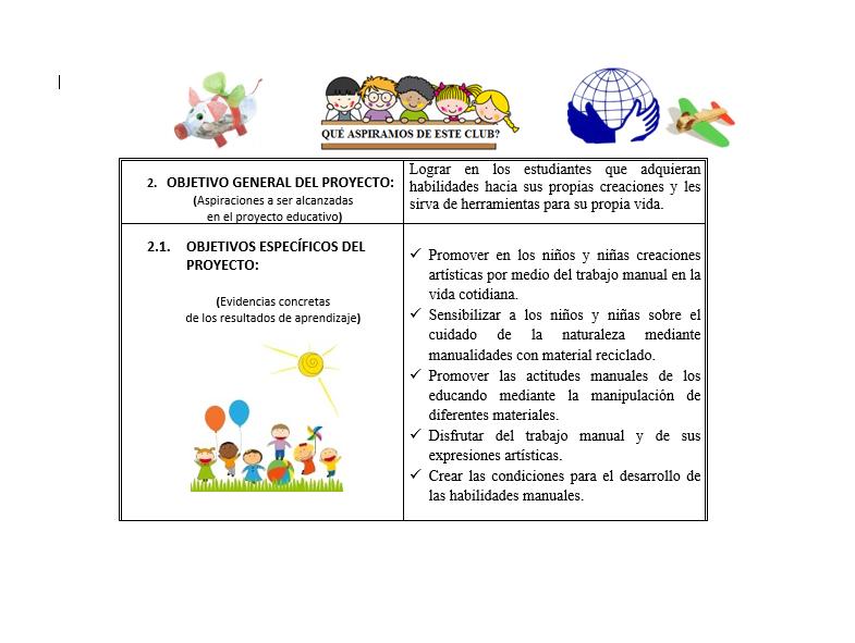 Planeación Club Artesanías EDUCACIÓN BÁSICA01