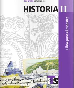 Planeacion de Historia Telesecundaria
