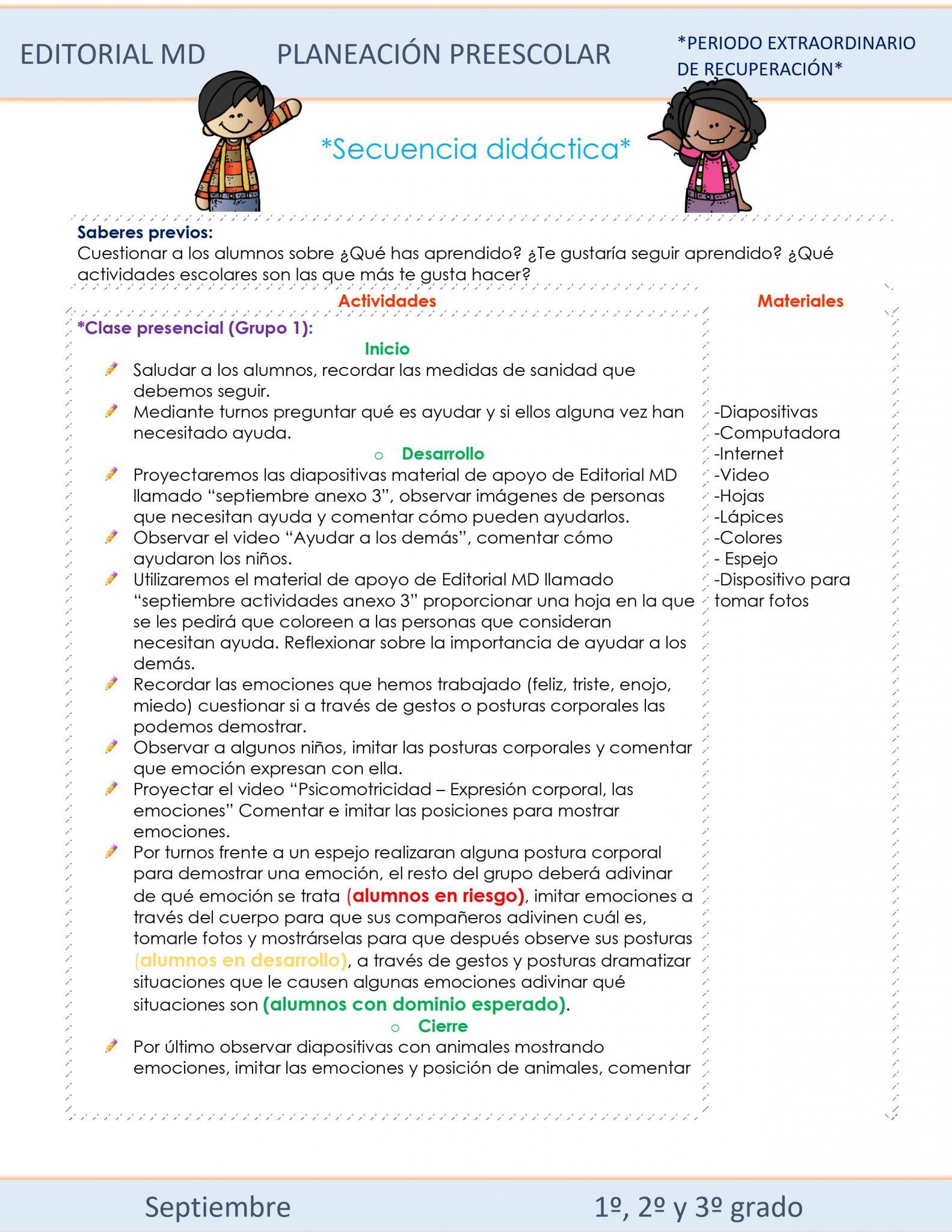 Planeación de Preescolar Híbrida del 27 de septiembre al 1 de octubre 2021 04