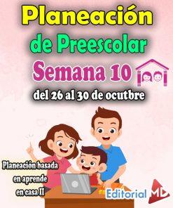 Planeacion preescolar semana 10