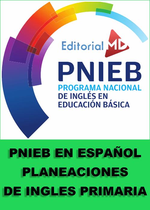 Planeaciones PNIEB Ingles primaria español