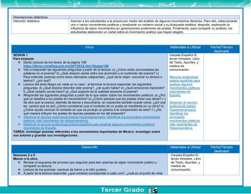 Planeaciones Telesecundaria 3° Grado 1er, 2do y 3er Trimestre (Paquete Acorde a Nuevos Libros) 2021 – 2022 02