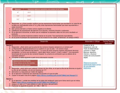 Planeaciones Telesecundaria 3° Grado 1er, 2do y 3er Trimestre (Paquete Acorde a Nuevos Libros) 2021 – 2022 05