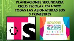 Planeaciones Telesecundaria Primer Grado 2021
