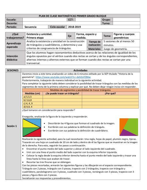 Planeaciones de Matemáticas 1 01