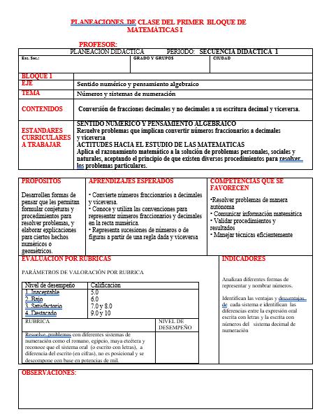 Planeaciones de Telesecundaria (Paquete Todo en 1) Plan 2011