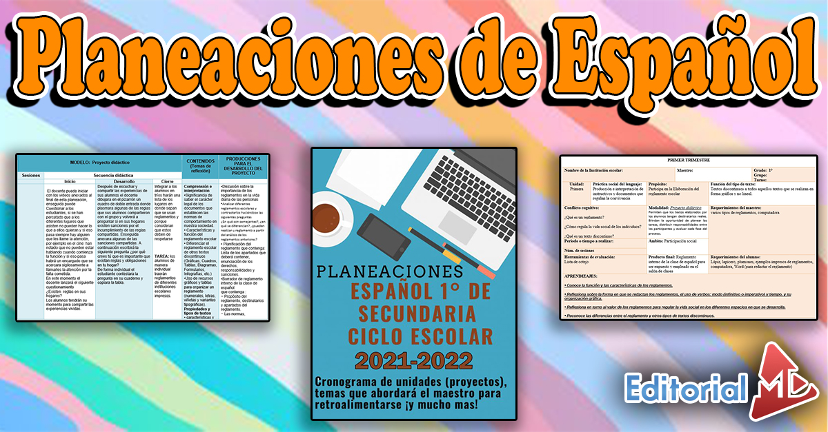 Planeaciones de español 01