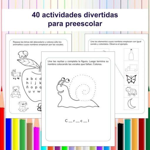 40 Actividades divertidas para niños de preescolar