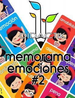 Memorama de Emociones para imprimir