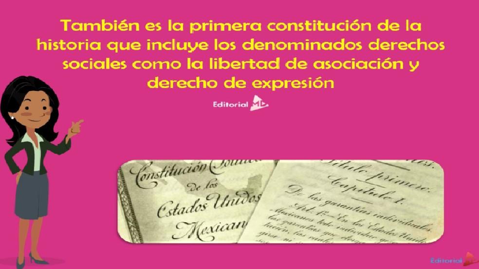Primera Constitucion