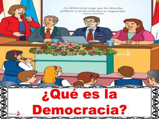 Que es la democracia