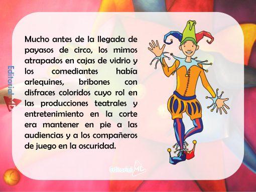 Qué son los arlequines descripción