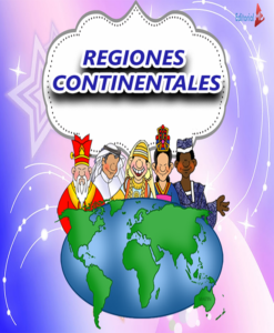 REGIONES CONTINENTALES para niños