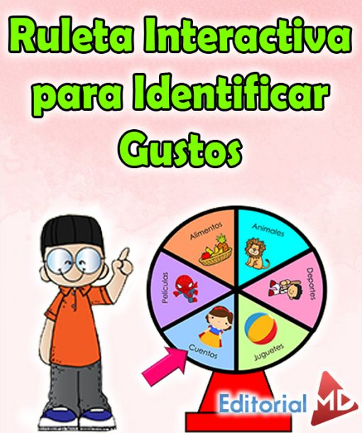 Ruleta Interactiva para Identificar Gustos