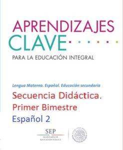 Secuencia Didáctica Español 2