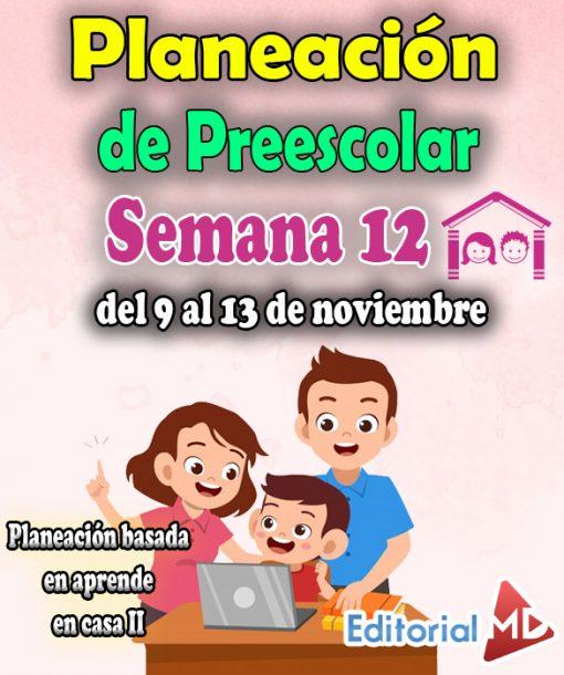 Semana 12 preescolar