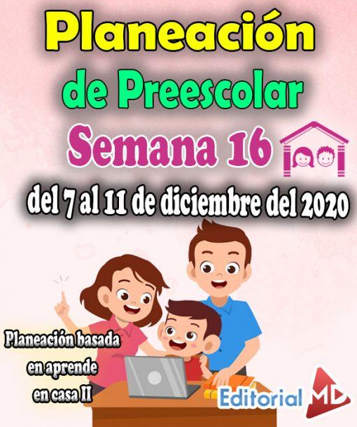 Semana 16 preescolar