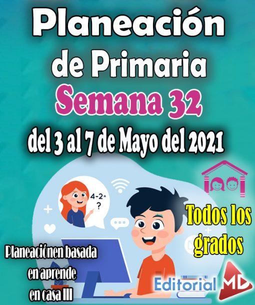 plan de trabajo semana 32 del 3 al 7 de mayo