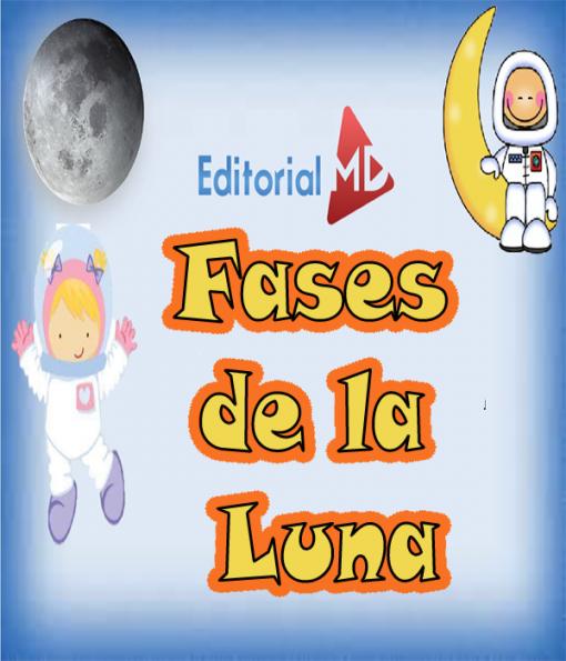 fases de la luna para niños