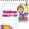 palabras con r - rr para niños
