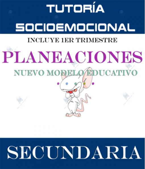 Planeaciones Tutoria Socioemocional 2 Secundaria Anual