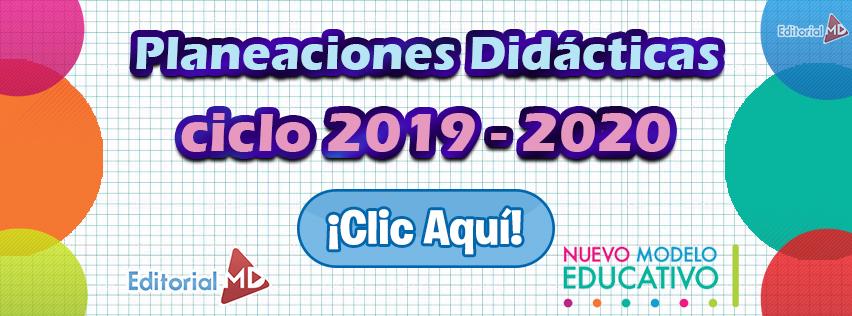 Planeaciones 2019-2020