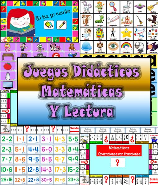 Juegos Didácticos Matemáticas Y Lectura