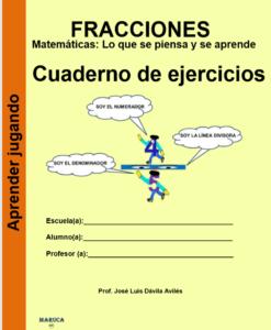Fracciones Cuaderno de ejercicios