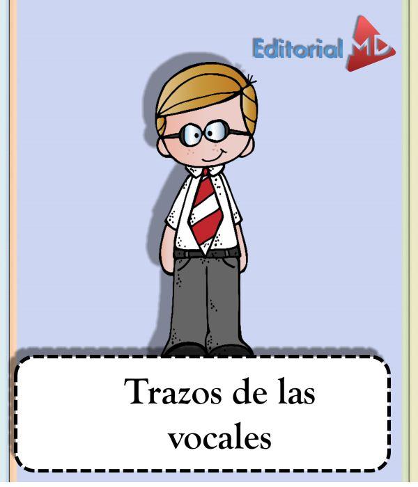 material para aprenderse las vocales